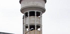 Ancien château d'eau sur le Site de l'usine Vetrotex
